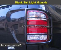 1996 2004 Nissan Pathfinder Black Tail Light Guards Rear Lamp Guard   eBay