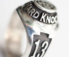 School Of Hard Knocks Class Ring - http://tiwib.co/school-hard-knocks-class-ring/ #Jewelry