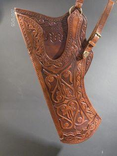 Leather armor by Zoltán Koszta, via Behance