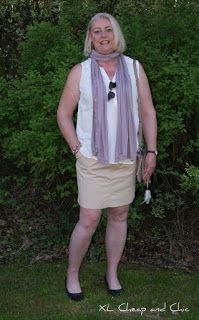 XL Cheap & Chic: 40+ ja hame - 40+ and a skirt...