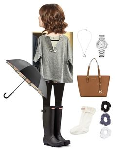 """""""Untitled #30"""" by skylasimshauser on Polyvore featuring Dorothy Perkins, Hunter, Tiffany & Co., Juicy Couture, MICHAEL Michael Kors, Boohoo and Burberry"""