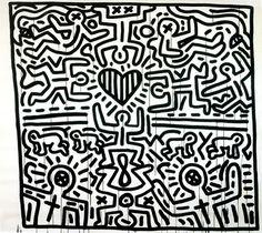 Untitled, 1984  Black Ink on Paper