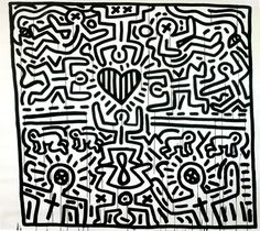 Keith Haring, Untitled, 1984 (from Keith Haring Foundation)