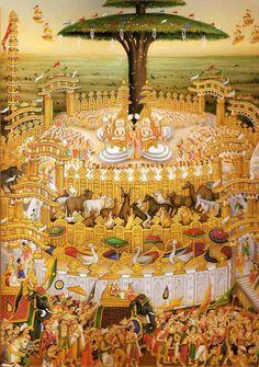 Religious Images, Religious Art, Holy Symbol, Shri Yantra, Jain Temple, Tibetan Art, Meditation Art, Buddha Buddhism, Rare Images