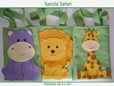 Maria Cebola: Sacola surpresa Safari