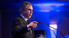 This man, Alberta Premier Jim Prentice, is not delaying his budget.  Canadian federal Conservative government seems to be talking out of both sides of it's mouth re oil and impact on the economy