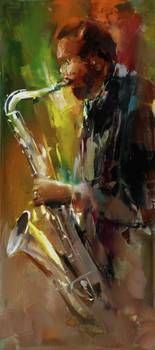 """""""jazz"""" by Willem Haenraets: Jazz // Buy prints, posters, canvas and framed wall art directly from thousands of independent working artists at Imagekind.com."""