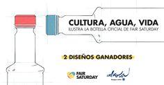 Concurso de diseño. Diseña las botellas de la colección #FairSaturday by Alzola @BasqueWater.
