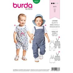 Burda Sewing Patterns, Sewing Patterns For Kids, Sewing For Kids, Baby Girl Dress Patterns, Baby Clothes Patterns, Baby Patterns, Sewing Baby Clothes, Baby Sewing, Free Sewing