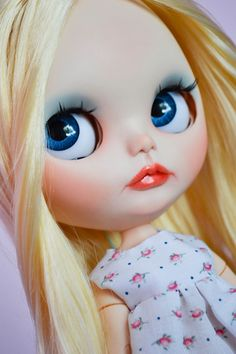 OOAK Custom Factory Blythe Doll Elise by MissFreyaJ