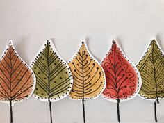 Tardor Fall Arts And Crafts, Autumn Crafts, Autumn Art, Nature Crafts, Autumn Leaves, Leaf Crafts, Painted Leaves, Collaborative Art, Leaf Art