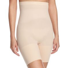 b1601dd877e6a Spanx Higher Power Short Shaper ( 38) ❤ liked on Polyvore featuring  intimates