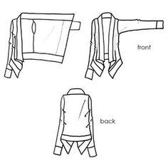 easy cardigan sewing pattern