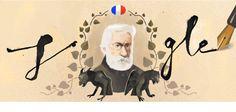 Celebrando Victor Hugo #GoogleDoodle 30-6-2017
