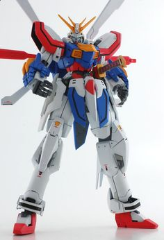 GUNDAM GUY: 1/144 God Gundam - Custom Build [Updated 4/11/16]