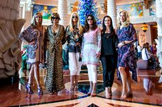 When The Real Housewives of Beverly Hills landed in Dubai, they wasted no time hopping into colorful caftans. Whether your spring and summer travels take you to the U. — or anywhere else — you really can't go wrong taking a page from their book. Fashion Cover, Fashion Tv, Fashion Outfits, Latest Fashion, Bikini And Wedges, Big Blonde Hair, Housewives Of Beverly Hills, Vacation Packing, Girls Weekend