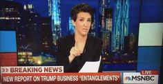 EXPOSED: Rachel Maddow Just Released A Previously Unseen Report About Scandalous Business Trump Business Ties, This Will Sink His Campaign
