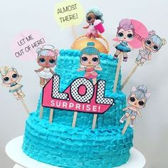 may birthday party Doll Birthday Cake, Baby Birthday, Birthday Ideas, Shared Birthday Parties, Lol Doll Cake, Doll Party, Lol Dolls, Photos, Surprise Cake