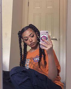 Fashion Tips Body .Fashion Tips Body Baddie Hairstyles, Box Braids Hairstyles, Black Girls Hairstyles, Cute Hairstyles, Girls Natural Hairstyles, School Hairstyles, Updo Hairstyle, Everyday Hairstyles, Black Girl Aesthetic