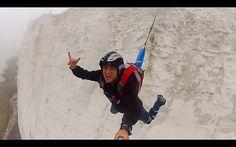 Base Jumping at Beachy Head