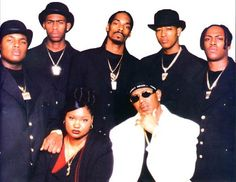 Some of the No Limit Soldiers in the 90s: The match up with Master P was instrumental in Snoop's solo career