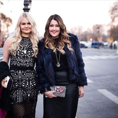 Our beautiful founders Chrissy and Bella Weems at the Victoria's Secret fashion show!!!