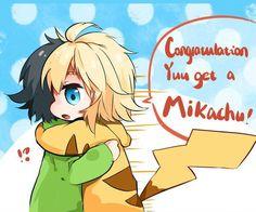 Yuu et Mika Mika Y Yuu, Mika And Yu, Pokemon, Mikaela Hyakuya, Seraph Of The End, Owari No Seraph, Fujoshi, Manga Anime, Anime Boys