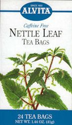 Alvita Nettle Leaf Tea was recommended by Wendy Cohan RN  for its antihistaminic properties.