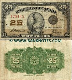 Canada 25 Cents 1923 Front: Britannia with helmet and trident. Canadian Coins, Canadian History, Australian Money, Rare Pennies, Rare Coins Worth Money, Coin Worth, Coin Values, Show Me The Money, Old Money
