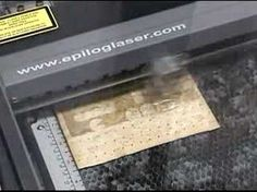 Laser Engraving Pacman on a Cracker