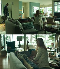 """Practically Everything Celeste Wore on """"Big Little Lies"""" with Our Scattered Thoughts on What it All Meant Big Little Lies, The White Princess, Living Room Remodel, Living Rooms, Ariana, Number Two, Decoration, Sweet Home, House Design"""