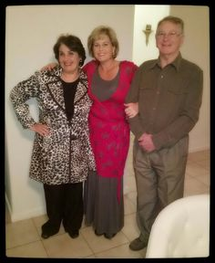 Mom ; Dad and me