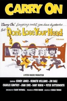 Watch Carry On Don't Lose Your Head Full-Movie