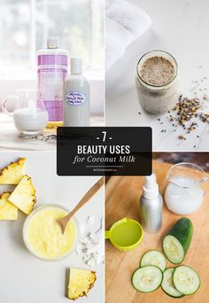 7 Ways To Get Glowing Skin With Coconut Milk