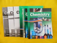ABeka Chemistry Set, Student w. T. Ed & more, LN, Science, School / Homeschool #TextbookBundleKit