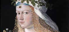 Krásná, mladá a chytrá - co víc si může otec přát. Ideální dcera pro výhodné sňatky Lucrezia Borgia, Crown, Astrology, Thoughts, Fashion, Moda, Fasion, Crowns, Trendy Fashion