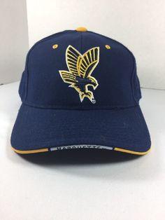4a6c4a424bd Marquette U Golden Eagles Basketball Cap Hat NCAA OSFA Navy Blue Zephyr Vtg  Logo  Zephyr