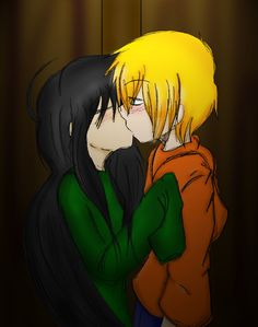 Other kiss in the wardrobe KND by JaelynGS on DeviantArt