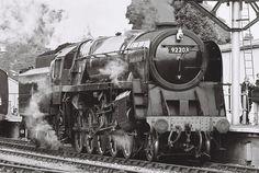 92203, 'Black Prince' 9F 2-10-0 at Minehead, 7th October 2012 #flickr #steam #engine