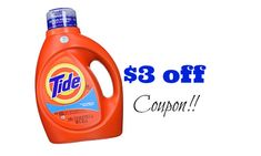 New 3 Off Gain Tide Coupon Tide Coupons Free Printable