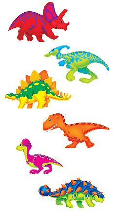 T-10991 Dino-Mite Pals™ Classic Accents® Variety Pack