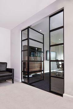 Stahl-Glas-Tür