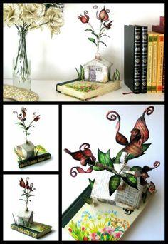 3D book deco.