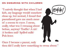 On swearing with children