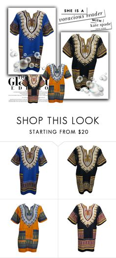 Dashiki Tunic Blouse Top Shirts by baydeals on Polyvore featuring Kate Spade  http://stores.ebay.com/mogulgallery/TOPS-BLOUSES-/_i.html?_fsub=901626119&_sid=3781319&_trksid=p4634.c0.m322
