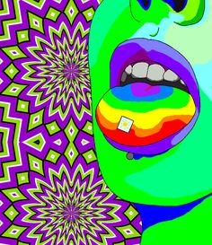 psychedelic acid art - Google Search