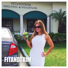 HAPPY MONDAY PEOPLE!  Let's start this week with a great attitude, and making smarter decisions.  How about a delicious and nutritious green juice for breakfast? ... yes, at Fit and Trim we practice what we preach.   Call us TODAY and make your appointment, and let us help you start this health journey with you. 954.200.7744  
