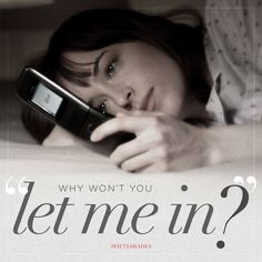 """Why won't you let me in?"" Christian is private and reserved. 