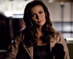 Olga Fonda as Nadia in The Vampire Diaries, Season Episode 7 - Death and the Maiden A Shade Of Vampire, Kathrine Pierce, Gangsta Girl, Vampire Books, Mystic Falls, Damon Salvatore, Celebrity Style, Celebrity Women, Vampire Diaries The Originals