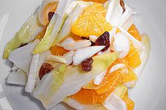 Wintersalat mit Chicorée und Orangen (Rezept mit Bild)   Chefkoch.de